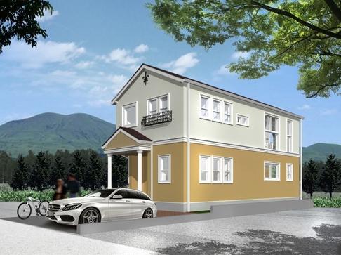 「健康住宅」外観イメージ