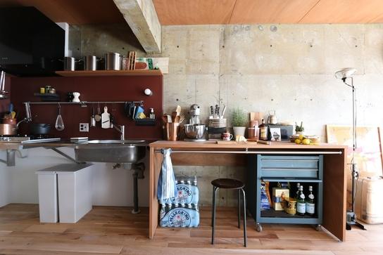 定額制リノベーションパッケージ「ASSY」のキッチンの一例