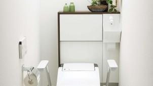 トイレリフォーム向け、「アラウーノ」専用手洗いを発売
