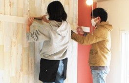 DIYレクチャー付き賃貸住宅のモデル事業を実施-大阪府住宅供給公社