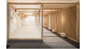 公共・商業施設を手軽に木質化できるユニット 大建工業