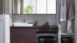 LIXIL、シャープで汚れにくい洗面化粧台を発売