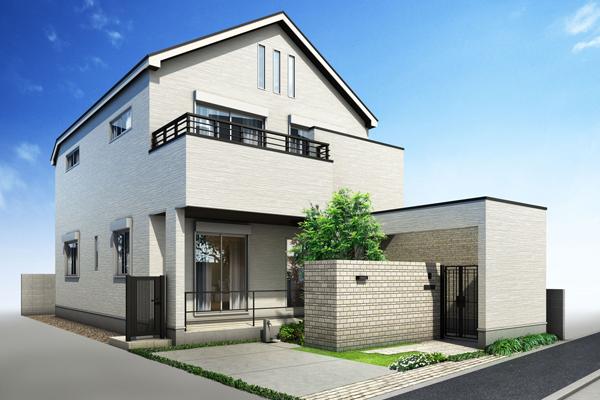 スマートハウス「浜田山モデルハウス」完成予想CG