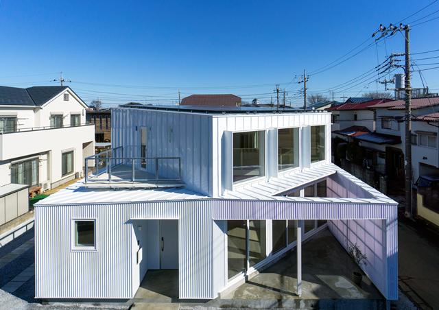 国土交通大臣賞受賞作品「Diagonal Boxes」 撮影:鈴木豊(Yutaka Suzuki)