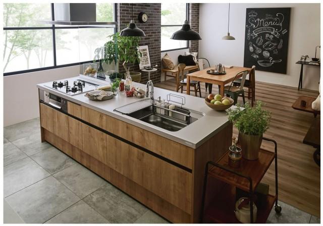 システムキッチン「アレスタ」施工例