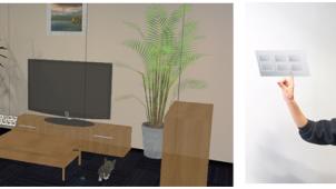 ネクスト、複合現実インテリアシミュレーターを初公開