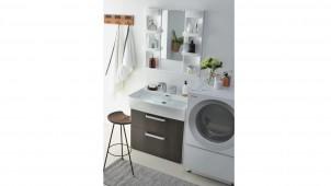 ノーリツ、普及タイプの洗面化粧台「シャンピーヌ」刷新
