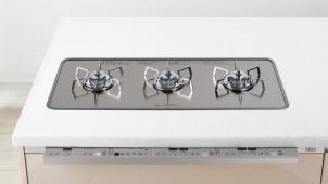 パナソニックが3口横並びガスコンロを刷新、調理を効率化する新機能