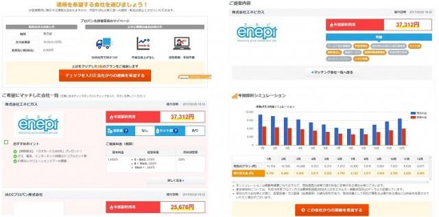 リニューアルしたプロパンガス料金一括比較サイト「enepi」イメージ