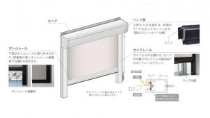 ニチベイ、コンパクトな高遮光ロールスクリーンを発売