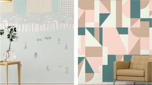 デザイン壁紙「WhO」、世界の伝統柄アレンジした新パターン