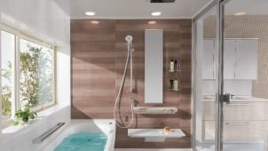 """TOTO、「サザナ」に""""適度な刺激感""""の新シャワーを設定"""