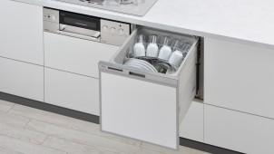リンナイがコンパクト食洗機の洗浄力向上、後付けタイプも発売