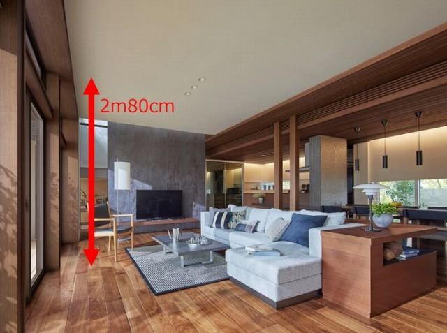 「2m80cmフラット天井」