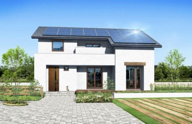 2015年の発売以来、契約数100棟超という「ZEROの家」外観一例