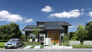 エアコン1台で全館空調、ヤマト住建がZEHモデルハウスを群馬県にオープン