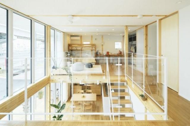 広島西店「木の家」モデルハウス内観