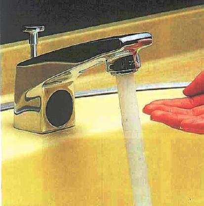 光電センサー内蔵自動水栓