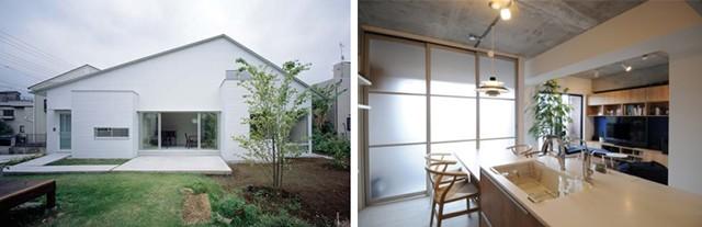 昨年度受賞作品 左:新築部門大賞「東大宮の家」 右:リフォーム部門大賞「土間のある暮らし」
