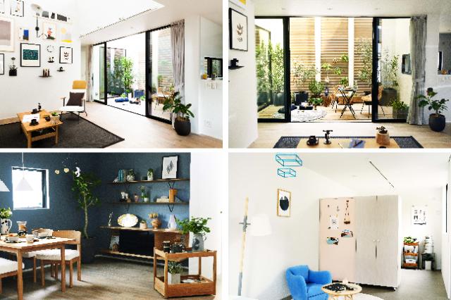 日常の幅を広げてくれるアウトドアリビングや自分好みに編集できるアートウォールがあるリビングなど、住み手が自由に楽しめるように空間を設計