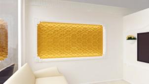 みはし、和モダン模様のGRG製壁パネルを発売