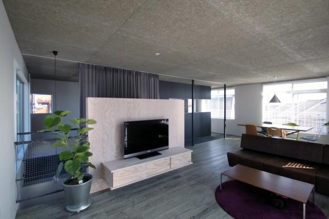 プロリノベ部門、グランプリを受賞した「中古プレハブ住宅のリノベーション―生田の家―」(浦木建築設計事務所)