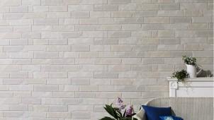 旭トステム、窯業系外装材に高級感ある石積柄