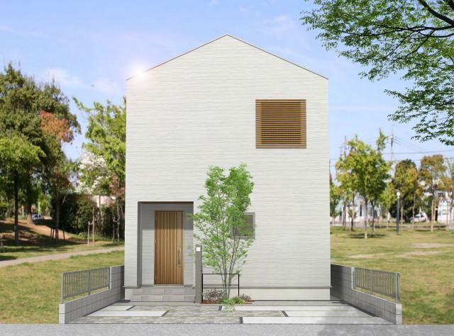 新モデルハウス「ZEHで680万円得する家」イメージパース