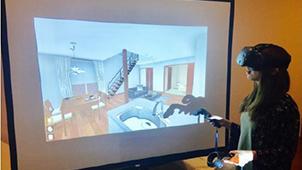 VRシステムを活用した住宅見学サービスを開始-エスケーホーム