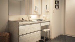 タカラスタンダード、最高級洗面台「エリーナ」を10年ぶりに一新