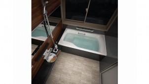 タカラ、システムバスの床・ドア刷新し清掃性+意匠性を向上