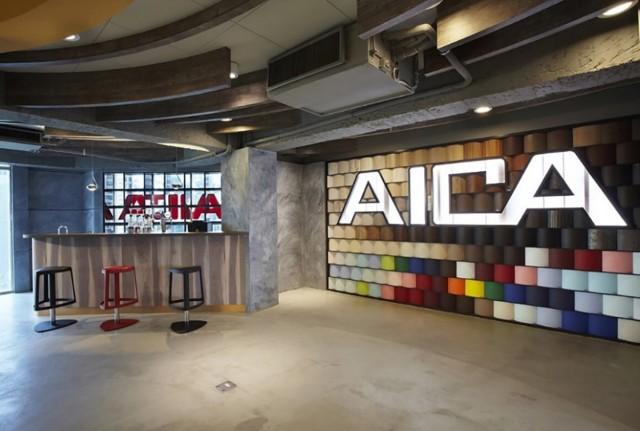 台湾のショールーム「台湾愛克台中展示中心」