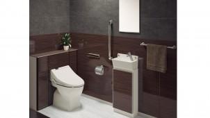 タカラ、トイレの床全面を保護するホーローパネルを発売