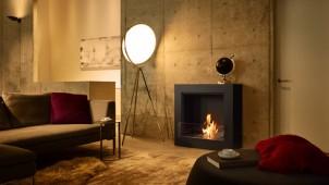 メルクマール、炎が際立つバイオエタノール暖炉を発売