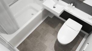 東リ、水まわりリフォーム向けビニル床シートを発売