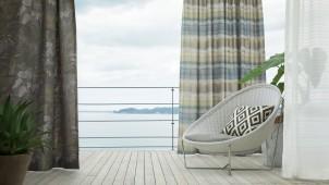 川島織物、最上級ファブリックシリーズに和モダン追加