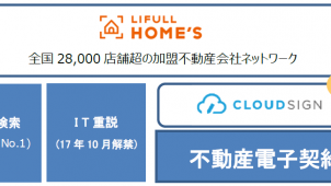 LIFULL、「クラウドサイン」と提携 電子契約プラットフォーム構築へ