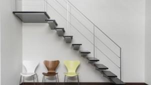 カツデンアーキテック、広々とした空間づくりを実現する片持ち階段を発売