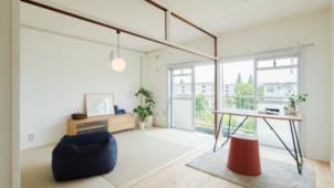 MUJI×UR団地リノベプロジェクト、関西の2団地5プランの入居申込受付を開始
