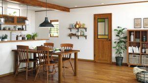 三協アルミ、デザイン豊富な室内建具シリーズを発売
