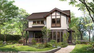 積水化学工業、ボリュームゾーン攻略商品として木質系ユニット住宅を販売開始