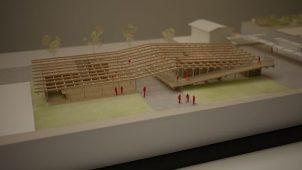 隈研吾氏設計のコミュニティ施設が来春着工 東北復興プロジェクト