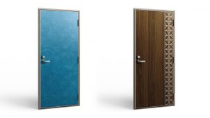 LIXIL、沖縄限定の集合住宅向けドアに新柄・新色