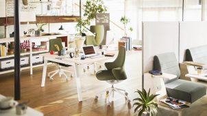 オカムラ、「働き方改革」につながるオフィス家具を提案 8日からフェア開催