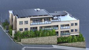 積水ハウス、全住戸ZEHの分譲マンション「グランドメゾン覚王山菊坂町」販売開始