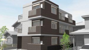 ヒノキヤグループの強みを生かした共同事業、第1弾の賃貸マンションが完成