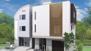 桧家ホールディングス、足立区加平に混構造の住宅展示場を出展