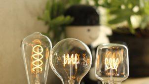 螺旋状フィラメントをLEDで再現 エジソンランプフォルムのLED電球を発売