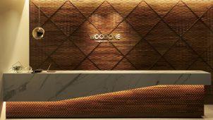 ウッドワン、個性的な木の壁材シリーズを発売