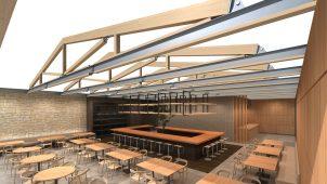 パナソニック、テクノストラクチャー専用のトラス系屋根フレーム構造を開発